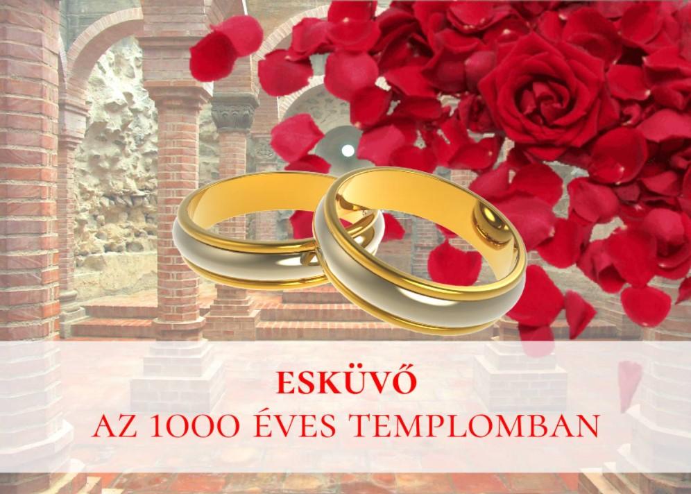 Esküvő az 1000 Éves Templomban