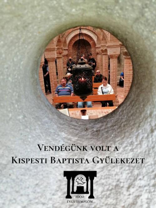 Vendégünk volt a Kispesti Baptista Gyülekezet