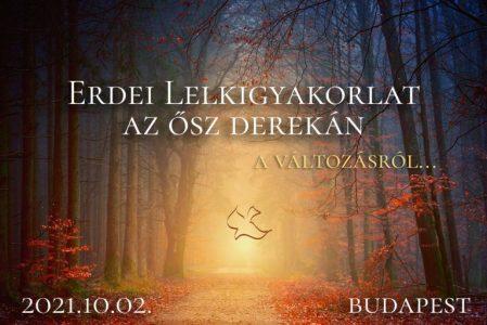 Erdei lelkigyakorlat az ősz derekán
