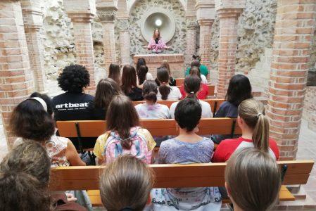 Patrona Hungariae Katolikus Gimnázium Közössége érkezett hozzánk