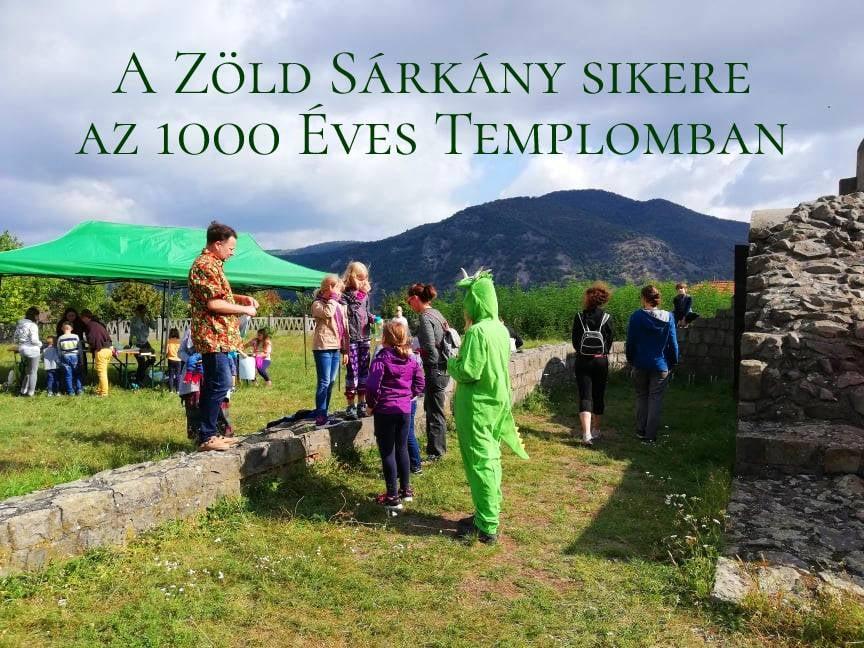 Zöld sárkány sikere az 1000 Éves Templomban