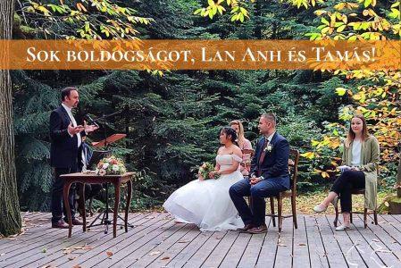 Sok boldogságot, Lan Anh és Tamás!